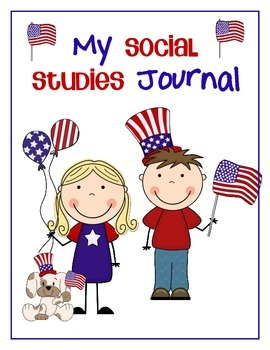 Social Studies Journal for Kinders - Citizenship 02 (American Symbols)