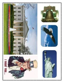 Social Studies Journal for Kinders - Citizenship 02 (American Symbols)
