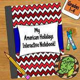 American Holidays Interactive Notebook