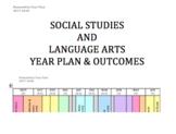 Humanities (Social Studies & Language Arts) Year Plan Overview