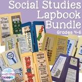 Social Studies Lapbook Bundle for Upper Elementary