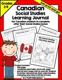 Social Studies Learning Journal/Workbook Canada