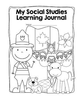 Social Studies Learning Journal/Workbook Canada