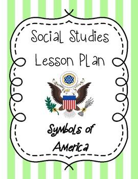 Social Studies Lesson Plan - Symbols of America