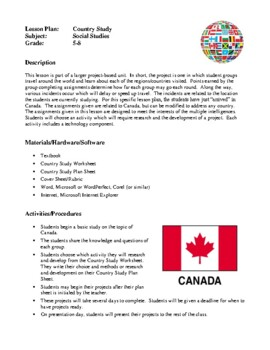 """Social Studies Lesson Plans - Country Study, """"Bear""""ing Good News"""