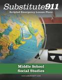 Social Studies Lesson Plans For Substitute Teachers