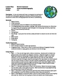 Social Studies Lesson Plans - World Continents, Landforms