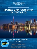 Social Studies - Living and Working in Ontario - Grade 3 Workbook/Public Schools
