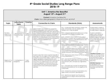 Social Studies Long Range Plan