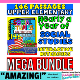 Social Studies Interactive Notebook MEGA Bundle for Upper