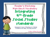 4th grade Social Studies & Reading Integration Task Cards