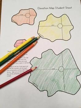 Social Studies: Make a 3D Elevation Map model