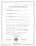Social Studies Map Assessment