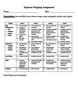 Social Studies: Map Assignment