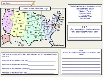 Geography Activities & Map Making
