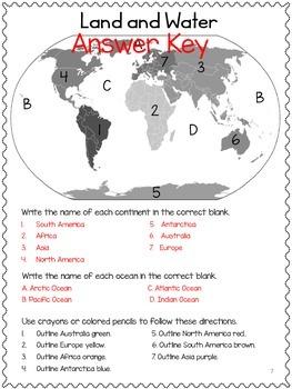 Map Skills: Social Studies! Cardinal Directions, Symbols! No PREP! Units 1-4