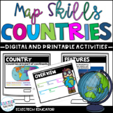 Distance Learning  l  Mapping Skills and About Canada Pres