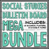 Social Studies Mega Bulletin Board Bundle