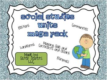 Social Studies Megapack: Bundle of ALL SS products