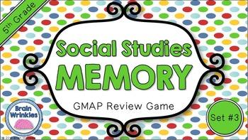 Social Studies Memory - 5th Grade GMAP Review (Set 3 of 4)