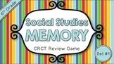 Social Studies Memory - 6th Grade CRCT Review (Set 1 of 3)