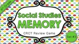 Social Studies Memory - 6th Grade CRCT Review (Set 3 of 3)