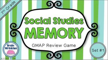 Social Studies Memory - 7th Grade GMAP Review (Set 1 of 4)