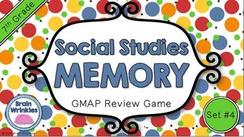 Social Studies Memory - 7th Grade GMAP Review (Set 4 of 4)