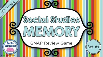 Social Studies Memory - 8th Grade GMAP Review (Set 1 of 5)