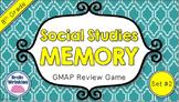 Social Studies Memory - 8th Grade GMAP Review (Set 2 of 5)