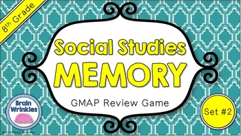 Social Studies Memory - 8th Grade GMAP Review (Set 2 of 5)