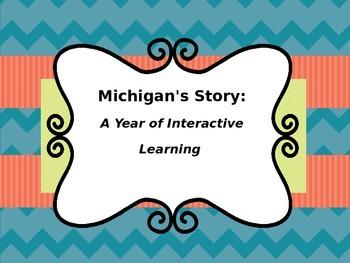 Michigan History - A Year Long Interactive Social Studies