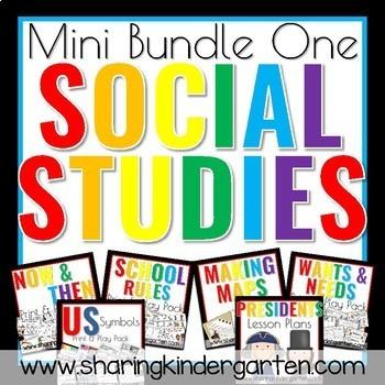 Social Studies Mini Bundle One