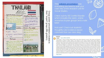 Social Studies: Mini Conflict Research - Inspire Students to Take Action!