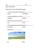 Social Studies Modified Assessment for Grade 5 U.S.Geograp