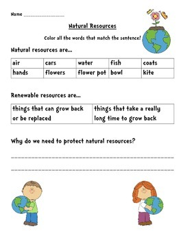 Social Studies Natural Resources