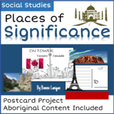 Places of Significance: Postcard Writing Gr. 2 New BC Curriculum: Social Studies