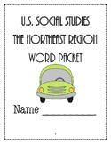 Social Studies - Northeast Vocabulary Packet