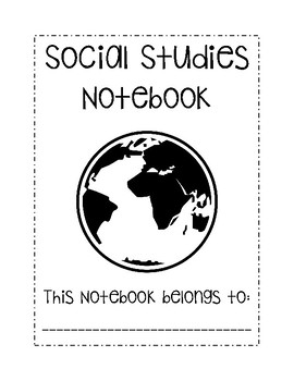 Social Studies Notebook