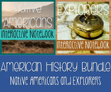 History Notebook Bundle - Native Americans AND Explorers -