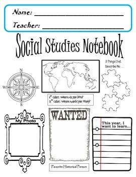 Social Studies Notebook COVER