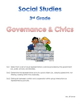 Social Studies Notebook: Tennessee State Standards Grade 3