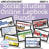 Social Studies ONLINE Lapbook/Interactive Notebook Bundle