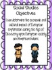 Social Studies Objective Posters