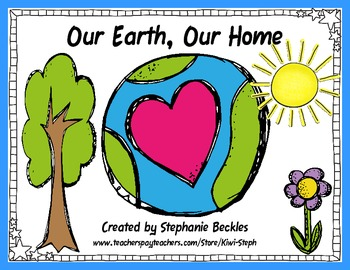 Social Studies - Our Earth Our Home (Black and White)