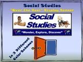 """Social Studies Banner #1: Social Studies- """"Wonder, Explore"""