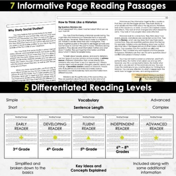 Social Studies: Passages
