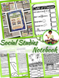 Social Studies Notebook Interactive & Reading Comprehension Passages