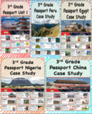 Social Studies Passport 3rd Grade Vocabulary Words with Definitions Bundle