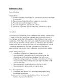 Social Studies Performance Task